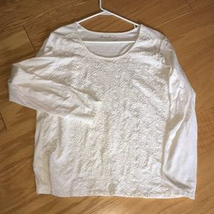 Eddie Bauer long sleeve blouse